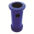 Oz Post Hammer Spacer, Blue -Round