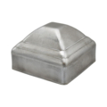 "Pressed Steel Post Cap. High Dome, Fits 2"" Square."