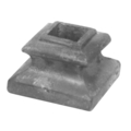 "Cast Iron Shoe, w/Set Screw. Fits 1/2"" Square"