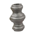 "Cast Steel Baluster Collar. 2-5/8"" Height, Fits 1/2"" Round."