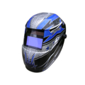 "Rock Star Welding Helmet with2500 Variable 7.25"" Lens."