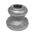 "Cast Steel Base.  1-1/2"" Height, Fits 1/2"" Round."