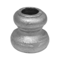 "Cast Steel Bushing.  1-3/4"" Height, Fits 3/4"" Round."