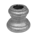 "Cast Steel Base.  1-1/2"" Height, Fits 5/8"" Round."