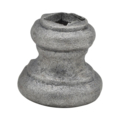 "Cast Steel Base. 1-1/2"" Height, Fits 1/2"" Square."