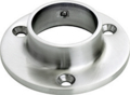 "Stainless Steel Wall Flange, Polished.  Fits 1.5"" Tube."