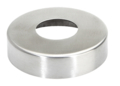 "Stainless Steel Flange Canopy, Satin.  Fits 2"" Tube."