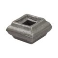 "Cast Steel Bushing. 7/8"" Height, Fits 5/8"" Square."