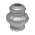 "Cast Steel Collar. 2-3/16"" Height, Fits 1/2"" Round."