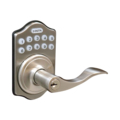 Lockey Electronic Lever Lock Satin Chrome
