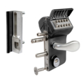 Locinox Vinci Mechanical Code Gate Lock Kits - Black