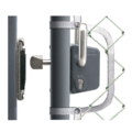 Locinox Sliding Gate Lock Kit,Silver