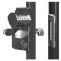 Locinox Sliding Gate Lock Kit Silver
