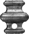 Cast Steel Knuckle. 1-3/4 Height. Fits 14mm Square.