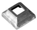 "Cast Aluminum Shoe Fits 1/2"" Square"