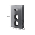 "Steel Simplex Unican Lock Box.12-1/4"" H"