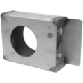 "Steel Import Lock Box, 1-1/2"" Wide, Single Box."