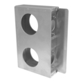 "1-1/2"" Wide Aluminum Double Box. 6-7/8"" H"