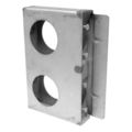 "Steel Lock Box, 1-5/16"" Wide,Double Box. 6-7/8"" H"