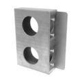 "Steel Import Lock Box, 1-5/8"" Wide, Double Box."