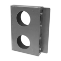 "Steel Import Lock Box, 1-5/16""Wide, Double Box."