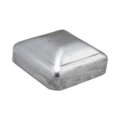 "Pressed Steel Post Cap Fits 1-1/4"" Square."