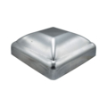 "Pressed Steel Post Cap, Fits 4"" Square."
