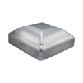 "Pressed Steel Post Cap, Fits 3-1/2"" Square."