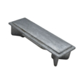 "Zinc Alloy Post Cap. 3/4"" Height, Fits 3"" x 1"" Rectangular."
