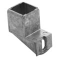 "Zinc Shoe, Offset Mounting. Fits 1"" Square"