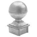 "Zinc Alloy Ball. 2-11/16"" Height, Fits 1-1/4"" Square."