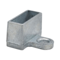 "Zinc Shoe w/1 Ear. Fits 1-1/2"" x 1/2"" Rectangle"