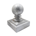 "Sand Cast Aluminum Post Ball. Fits 3"" Square"