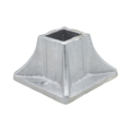 "Aluminum Flanged Shoe. 1-7/8"" Height, Fits 1"" Square."