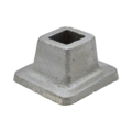 "Aluminum Shoe. 15/16"" Height, Fits 1/2"" Square."