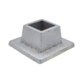 "Aluminum Shoe. 1-1/4"" Height, Fits 1"" Square."