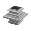 "Aluminum Sand Cast Collar. Fits 1"" Square"