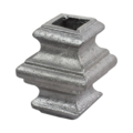 "Aluminum Sand Cast Collar. Fits 1/2"" Square"