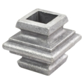 "Aluminum Die Cast Collar. Fits 3/4"" Square."