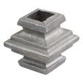"Aluminum Sand Cast Collar. Fits 5/8"" Square"