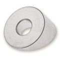 "Beveled Washer, SS 9/32"" x 3/4od 4 pack"