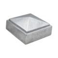 "Aluminum Die Cast Post Cap. Fits 1-1/2"" Square"