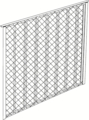 "A/C Cage 36""x36"" Single Panel"