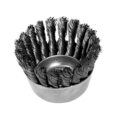 Cup Brush, Carbon Knot, .020 Wire
