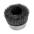 Cup Brush, Carbon Crimped. .014 Wire