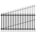 "Picket 1.25"" Rail 14G 5/8"" Picket 18G-46""x94"" Rake"