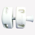 Magnetic Safety Latch, White, Side Pull