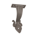 "Forged Steel Handrail Bracket 6-1/2""H x 4-1/8""W"