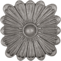 "Forged Steel Rosette, 2-15/16""Diameter"