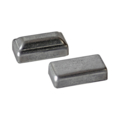 "Aluminum Pressed Rect Post Cap. Fits Over 2""x1"", Flat Top"